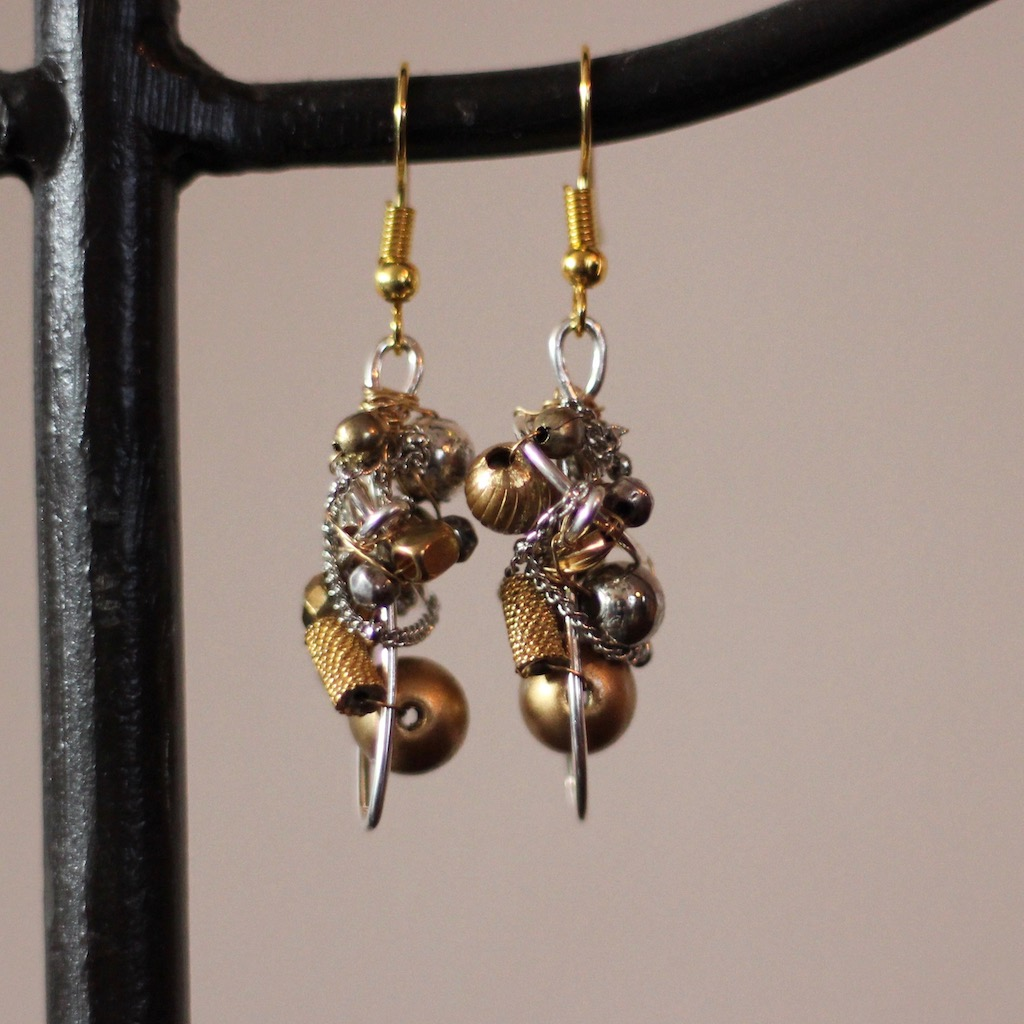 small-tri-tone-glob-earrings