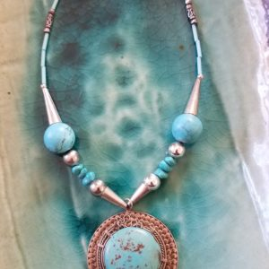 turquoise-silver-necklace